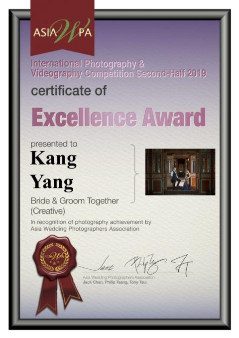 AWPA2019 國際攝影大賽獲得卓越獎