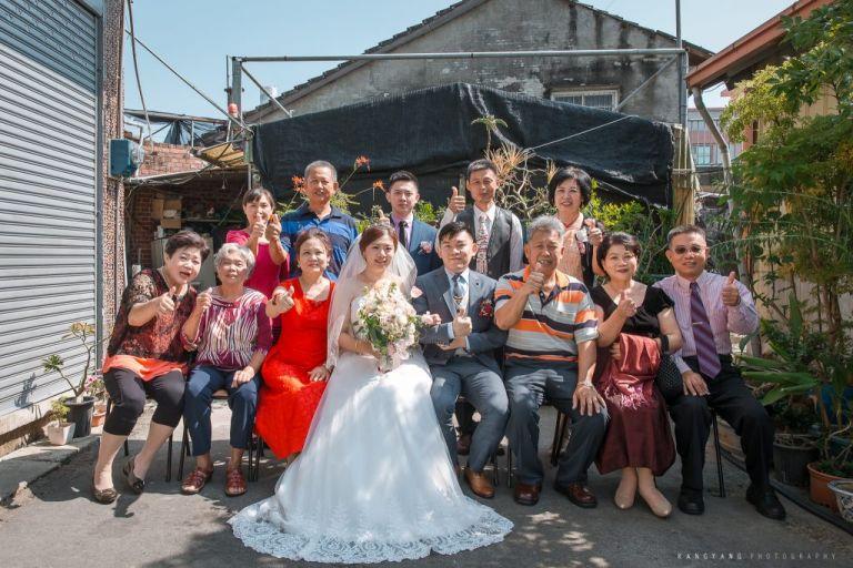婚禮流程 全家福照