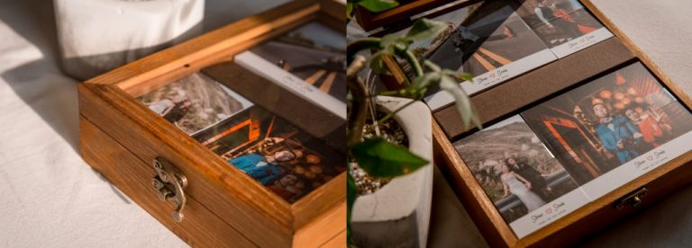 婚紗謝卡文創木盒