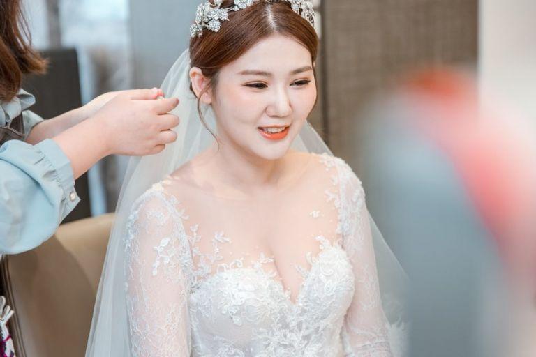 婚禮流程 梳化妝髮
