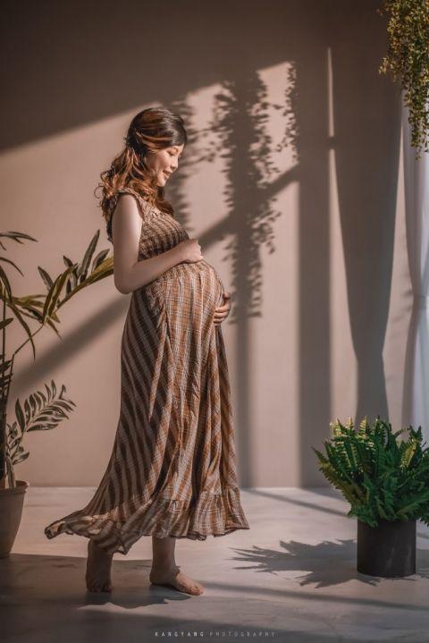 [孕婦攝影] 怡文 孕婦寫真 @ KSPACE  #婚攝楊康
