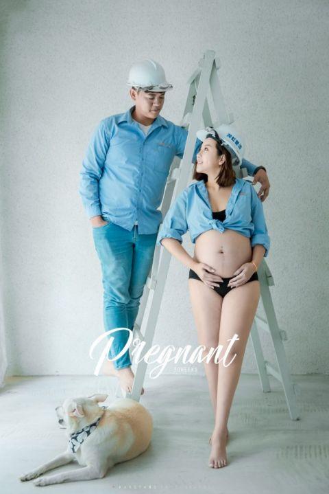 [孕婦攝影] Rere 孕婦寫真 @ KSPACE| #婚攝楊康