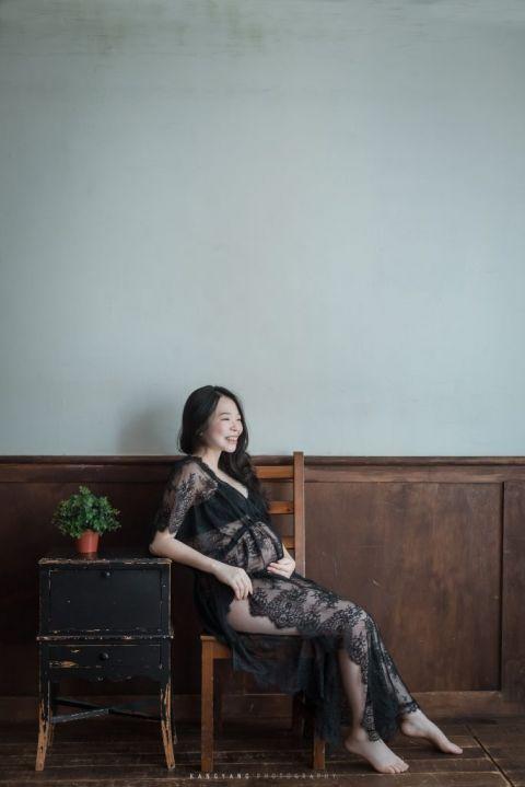 [孕婦攝影] Iris 孕婦寫真 @ KSPACE| #婚攝楊康